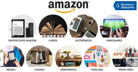 Amazon brasileira começa a vender eletrônicos